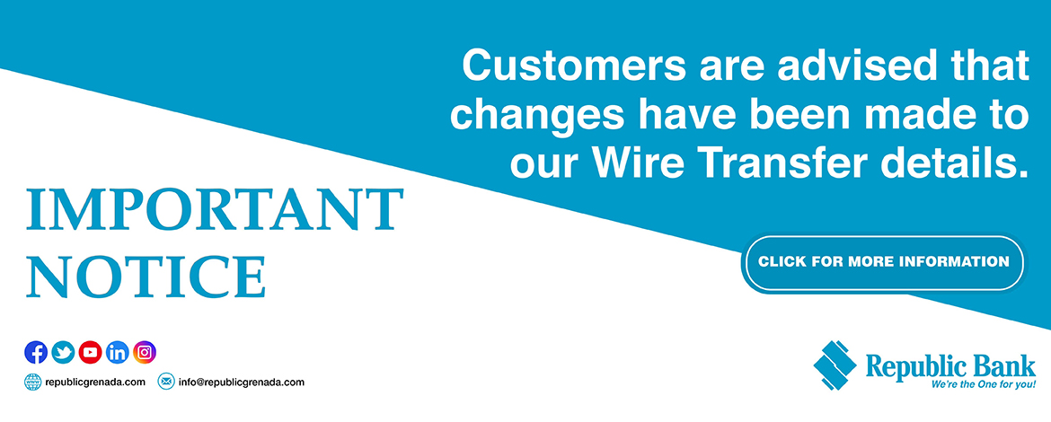 wire transfer banner